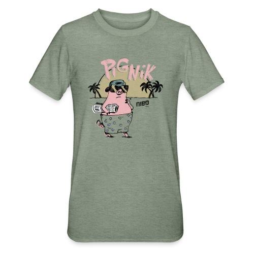 Pig Nic old School Cartoon Vintage Retro Shirt - Unisex Polycotton T-Shirt