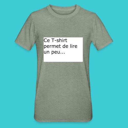 t shirt3 - T-shirt polycoton Unisexe