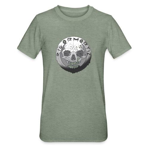Rigormortiz Black and White Design - Unisex Polycotton T-Shirt