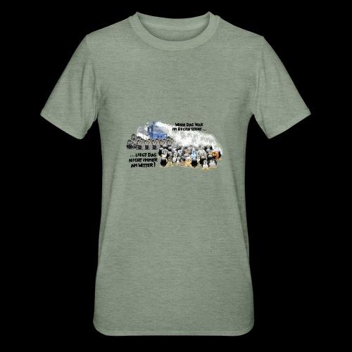 tux demo - Unisex Polycotton T-Shirt