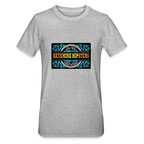 Black Vintage - KETAMINE HIPSTERS Apparel - Unisex Polycotton T-Shirt