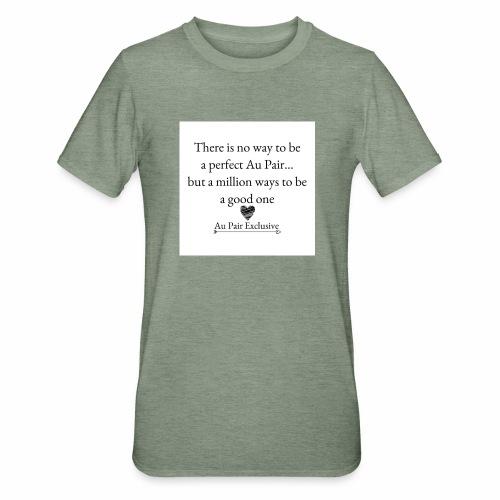 Perfect au pair - Unisex Polycotton T-shirt