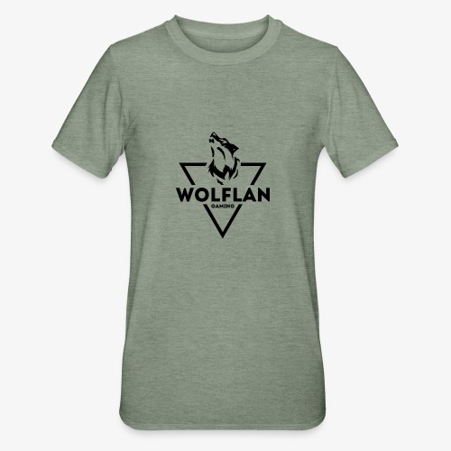 WolfLAN Gaming Logo Black - Unisex Polycotton T-Shirt