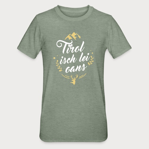 Tirol isch lei oans • Nature Edition - Unisex Polycotton T-Shirt