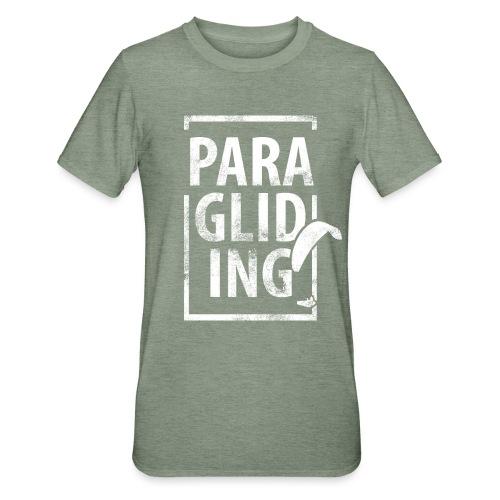 Paragliding Gleitschirmfliegen Paragleiten - Unisex Polycotton T-Shirt