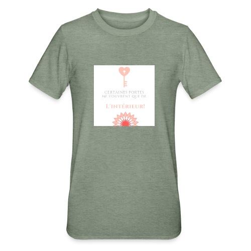 Portes du coeur! - T-shirt polycoton Unisexe