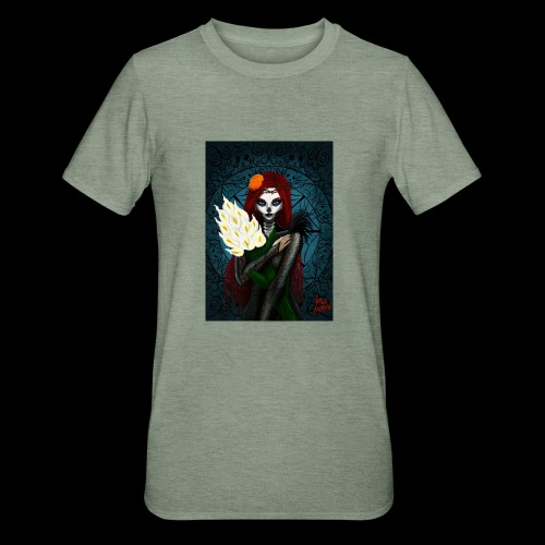 Death and lillies - Unisex Polycotton T-Shirt
