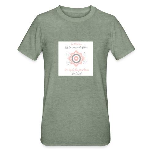 Douceur - T-shirt polycoton Unisexe