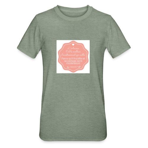 Amour - T-shirt polycoton Unisexe