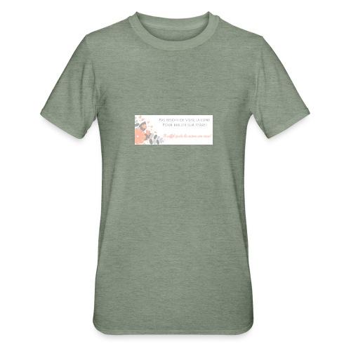 Viser la Lune - T-shirt polycoton Unisexe
