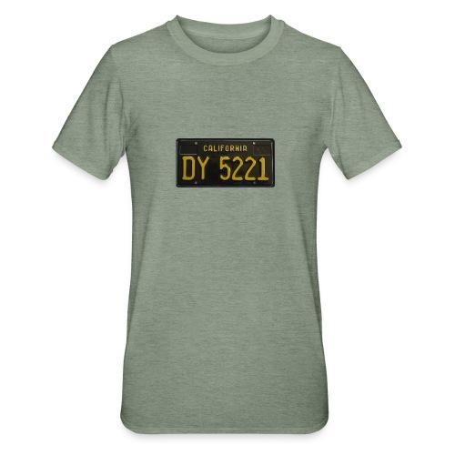 CALIFORNIA BLACK LICENCE PLATE - Unisex Polycotton T-Shirt