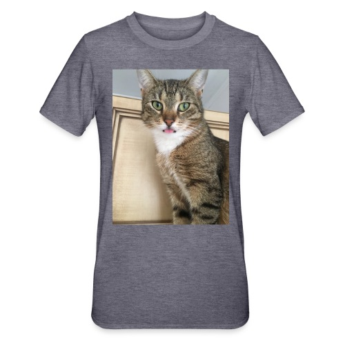 Kotek - Koszulka unisex z polibawełny