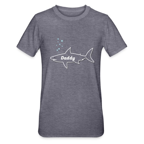 Daddy shark - matching outfit fathersday gift - Unisex Polycotton T-Shirt