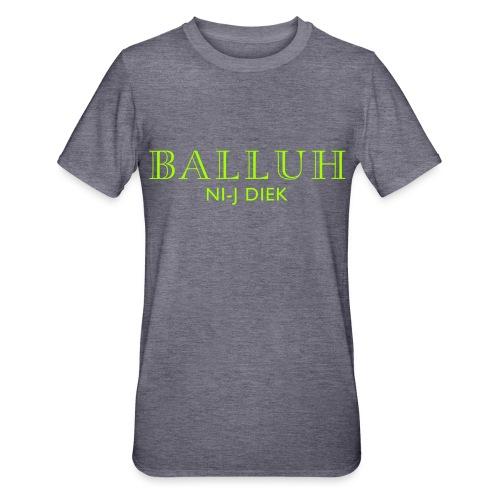 BALLUH NI-J DIEK - navy/neon - Unisex Polycotton T-shirt