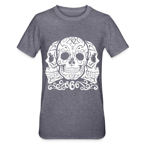 Skull Dia de los muertos - T-shirt polycoton Unisexe