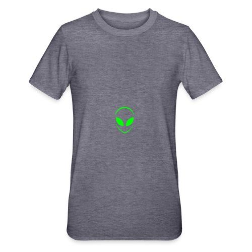 Alien Face Cool - Unisex Polycotton T-Shirt