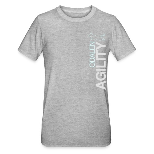 odalen agility blue1 - Unisex Polycotton T-Shirt