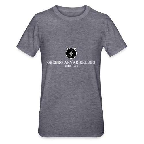 nyloggatext2medvitaprickar - Polycotton-T-shirt unisex
