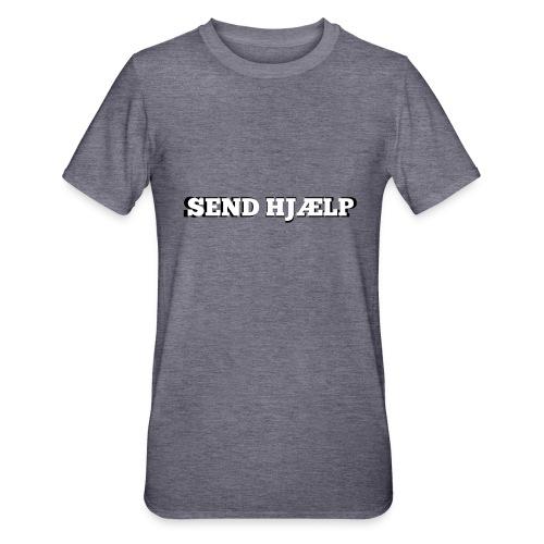 SEND HJÆLP T-shirt - Unisex polycotton T-shirt