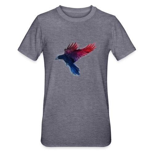 Watercolor Raven - Unisex Polycotton T-Shirt