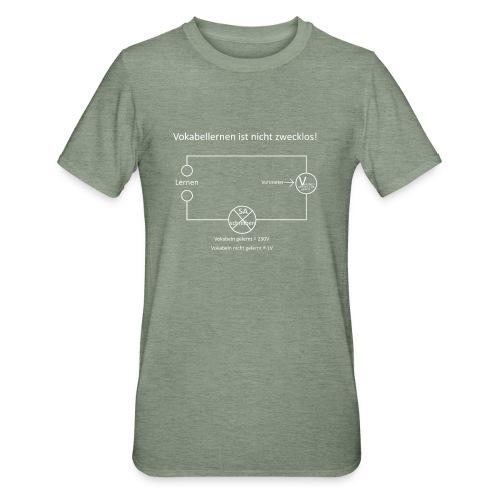 Vokabellernen ist nicht zwecklos - Unisex Polycotton T-Shirt