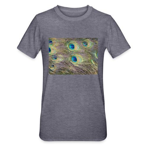 Peacock feathers - Unisex polypuuvilla-t-paita