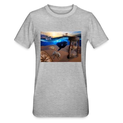 Wodne Przemyślenia - Koszulka unisex z polibawełny
