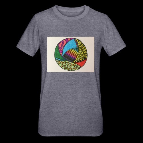 circle corlor - Unisex polycotton T-shirt