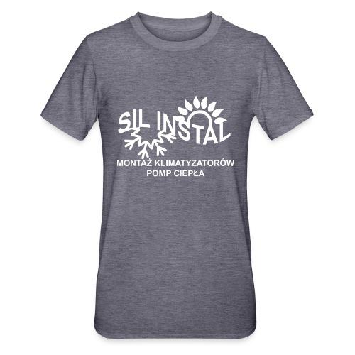 sil instal - Koszulka unisex z polibawełny
