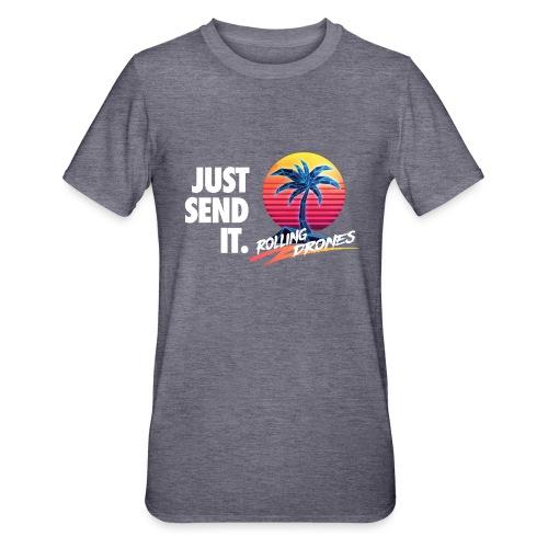 Just Send It @ RollingDrones - Unisex Polycotton T-Shirt