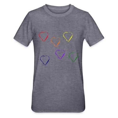 Tanzende Herzen 20.1 - Unisex Polycotton T-Shirt