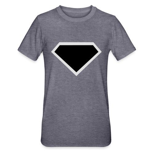 Diamond Black - Two colors customizable - Unisex Polycotton T-shirt