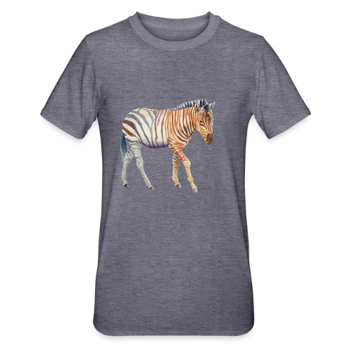 Zebra grants - Unisex polycotton T-shirt