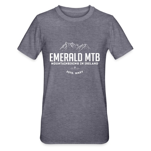 Emerald MTB logo - Unisex Polycotton T-Shirt