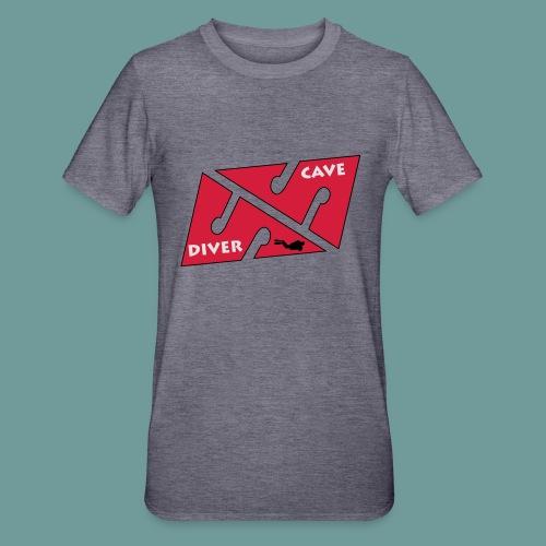cave_diver_01 - T-shirt polycoton Unisexe