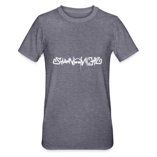 Shawn Stein Logo weiß / QR - Unisex Polycotton T-Shirt