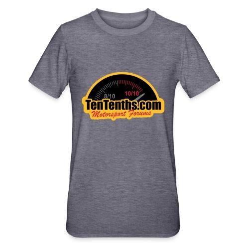 3Colour_Logo - Unisex Polycotton T-Shirt