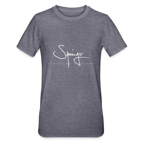 Logo Springer Guitars - T-shirt polycoton Unisexe