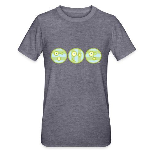 Smile multi4 - Unisex Polycotton T-shirt