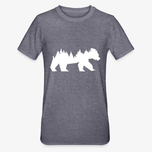 Bear Wald - Unisex Polycotton T-Shirt