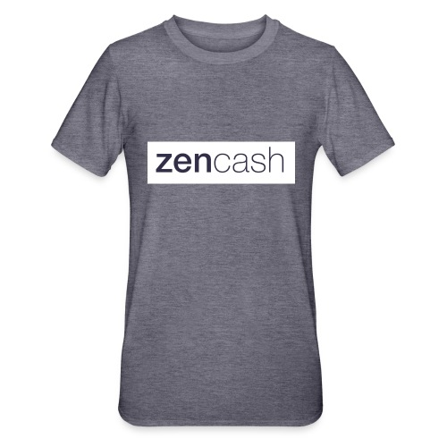 ZenCash CMYK_Horiz - Full - Unisex Polycotton T-Shirt