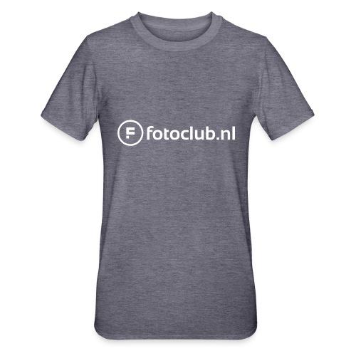 Logo Wit Fotoclublnl - Unisex Polycotton T-shirt