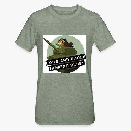 logo dogs nieuw - Unisex Polycotton T-shirt