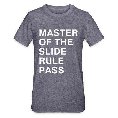 Master of the Slide Rule Pass - Unisex Polycotton T-Shirt
