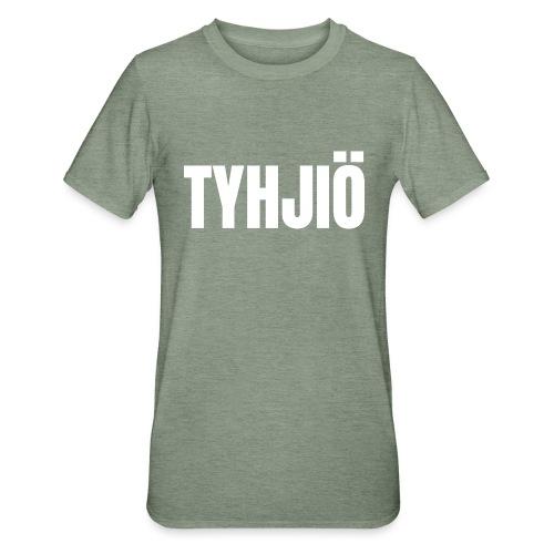 TYHJIÖ Logo White - Unisex polypuuvilla-t-paita