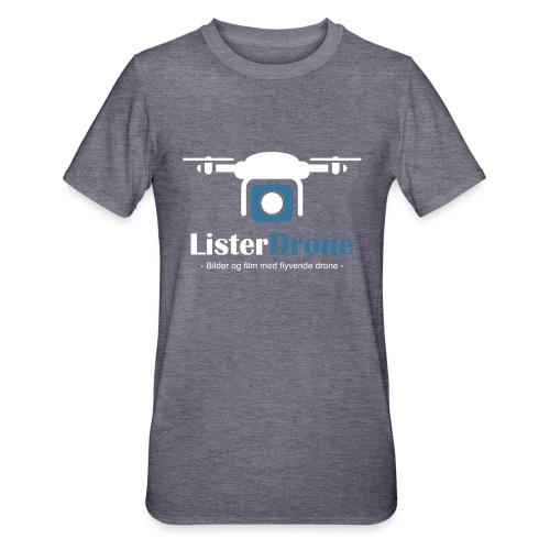 ListerDrone logo - Unisex Polycotton T-skjorte