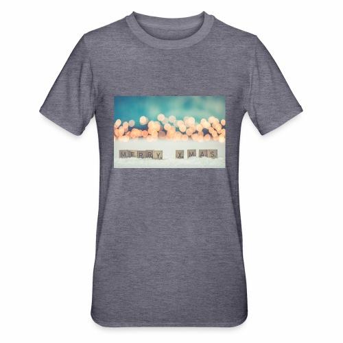 Merry Christmas - Unisex polycotton T-shirt