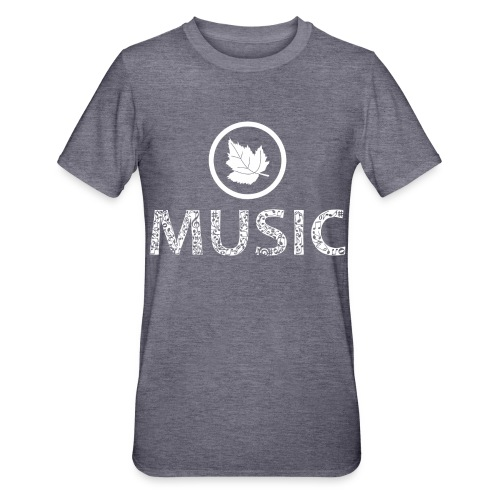 logo bashk music e bardhe - Unisex Polycotton T-Shirt