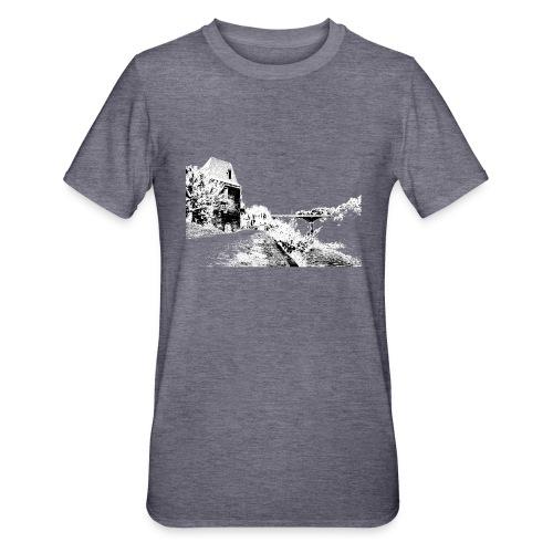 J'aime Mouleydier - Pont F - T-shirt polycoton Unisexe