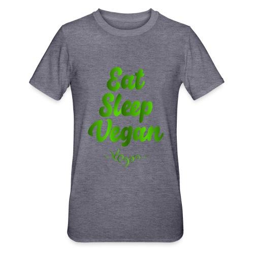 Eat Sleep Vegan - Unisex polypuuvilla-t-paita